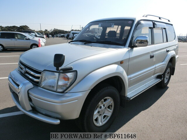 Used 1998 TOYOTA LAND CRUISER PRADO BF611648 for Sale