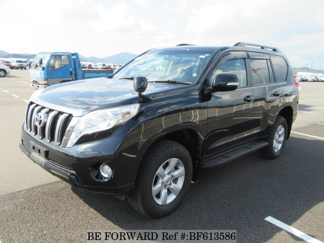 Used 2014 TOYOTA LAND CRUISER PRADO BF613586 for Sale
