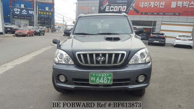 Used 2002 Hyundai Terracan Bf613873 For Image