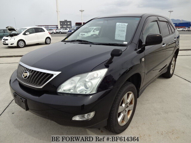 Used 2008 TOYOTA HARRIER BF614364 for Sale