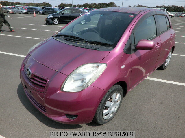 Used 2005 TOYOTA VITZ BF615026 for Sale