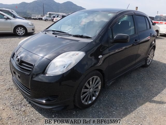 Used 2005 TOYOTA VITZ BF615597 for Sale