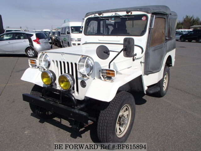 Used 1984 Mitsubishi Jeep N J54 For Sale Bf615894 Be Forward