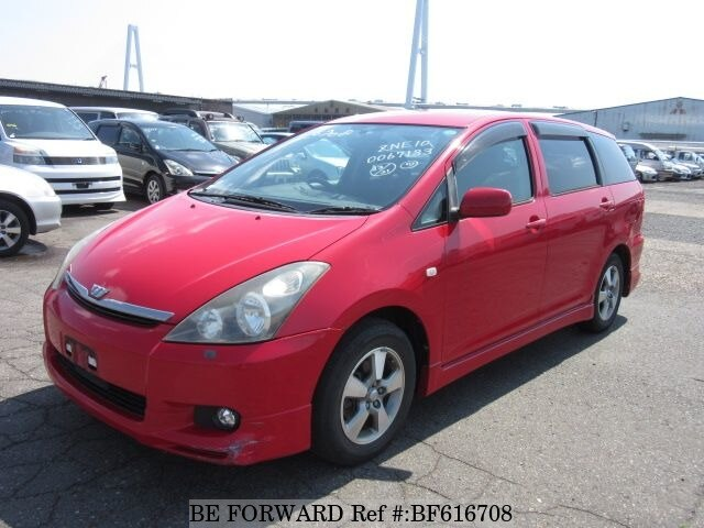 Used 2003 TOYOTA WISH BF616708 for Sale