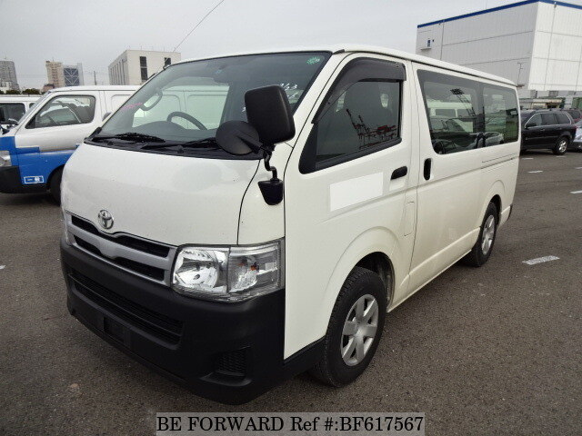 1b2a331d62 Used 2013 TOYOTA HIACE VAN DX LDF-KDH206V for Sale BF617567 - BE FORWARD