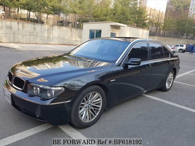 Used 2003 Bmw 7 Series Bf618192 For Image