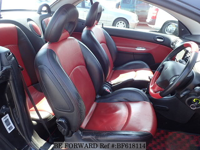 Used 2004 PEUGEOT 206 CC S16/GH-M206CC for Sale BF618114 - BE FORWARD
