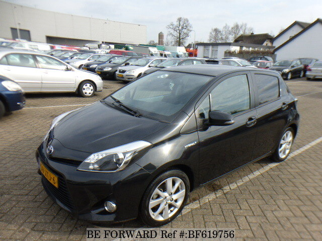 how to find model of toyota yaris