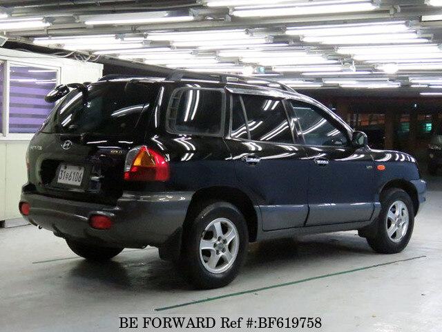 Bf Bf on 2001 Hyundai Santa Fe Tire Size