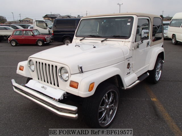Used 2000 JEEP WRANGLER BF619577 For Sale