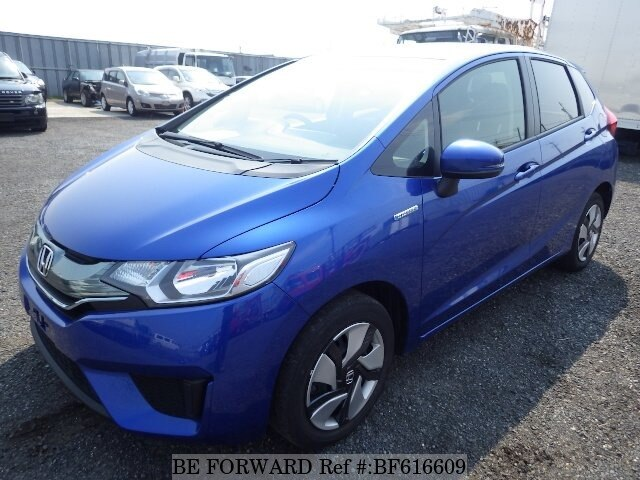 Used 2014 HONDA FIT HYBRID BF616609 For Sale Image ...
