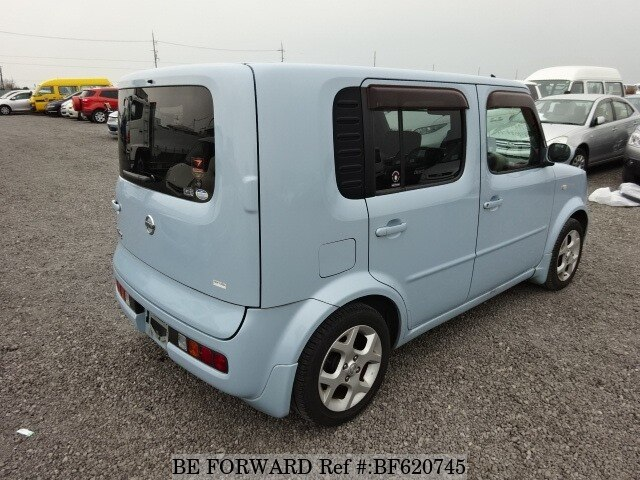 2004 nissan cube ua bz11 d 39 occasion en promotion bf620745 be forward. Black Bedroom Furniture Sets. Home Design Ideas
