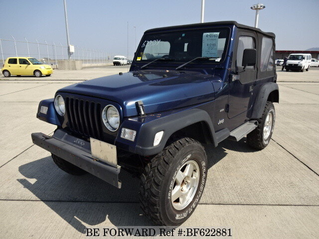 Used 2006 JEEP WRANGLER/GH-TJ40S for Sale BF622881 - BE FORWARD