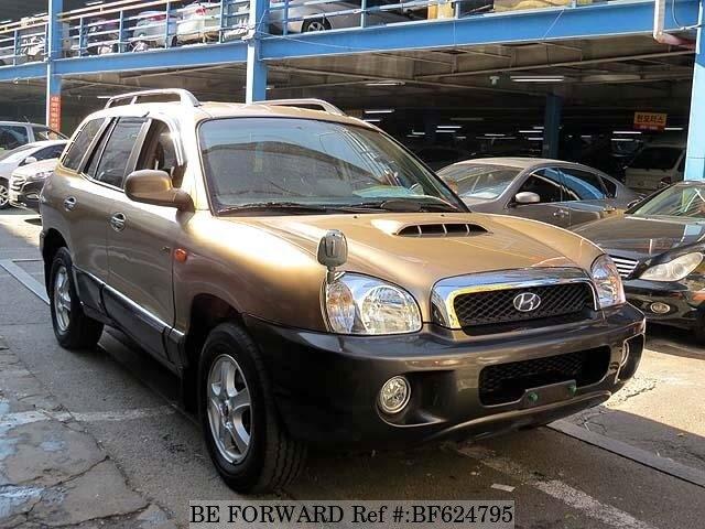 Used 2000 HYUNDAI SANTA FE BF624795 For Sale