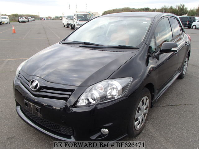 Used 2010 Toyota Auris Rsdba Zre152h For Sale Bf626471 Be Forward