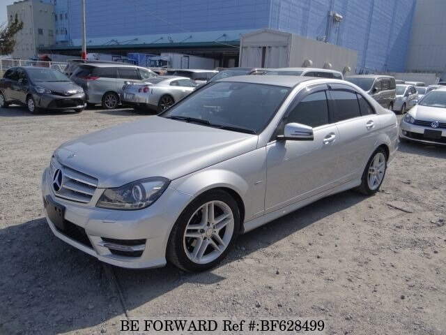 Used 2012 Mercedes Benz C Class C200 Blue Efficiency