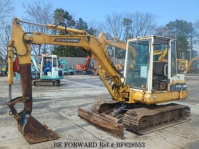 Used 1988 KOMATSU KOMATSU OTHERS/PC40-6 for Sale BF628553