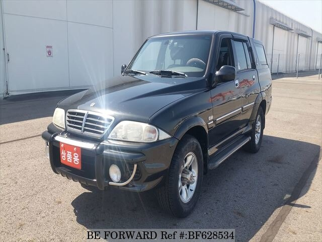 ssangyong musso sports workshop manual