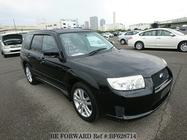 Used 2007 Subaru Forester Cross Sports 2 0i Cba Sg5 For Sale Bf628714 Be Forward