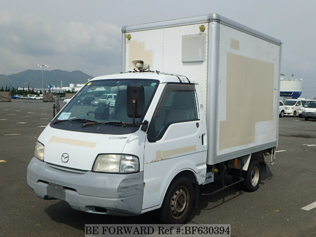 Used 2001 Mazda Bongo Truck Panel Van  Kj-sk22t For Sale Bf630394