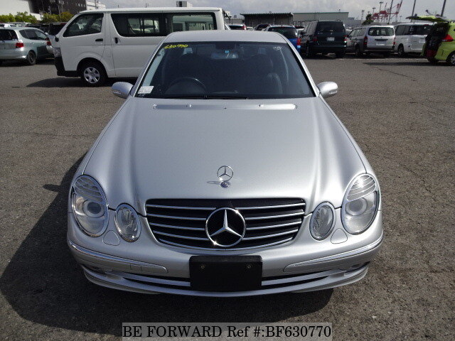 used 2005 mercedes benz e class e350 avantgarde dba 211056c for sale bf630770 be forward. Black Bedroom Furniture Sets. Home Design Ideas