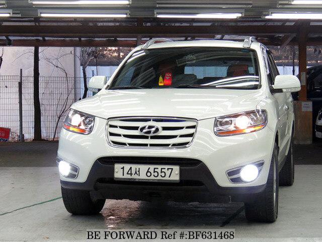 Used 2011 Hyundai Santa Fe Mlx For Sale Bf631468 Be Forward