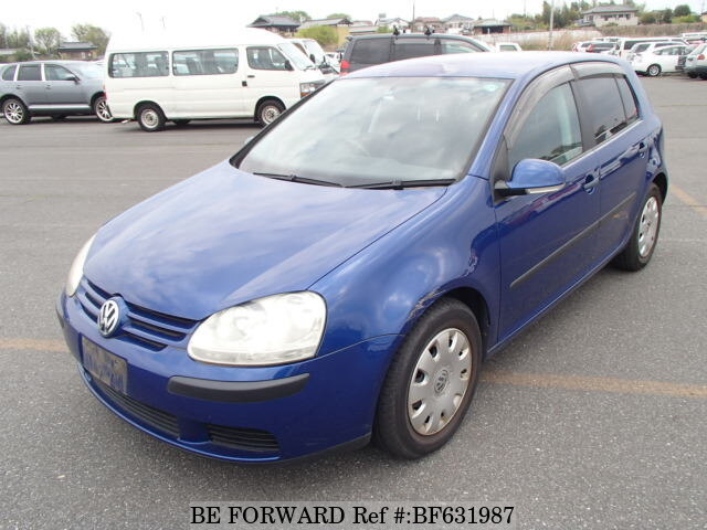 2bf126b32b2e Used 2005 VOLKSWAGEN GOLF PLUS GH-1KBLP for Sale BF631987 - BE FORWARD