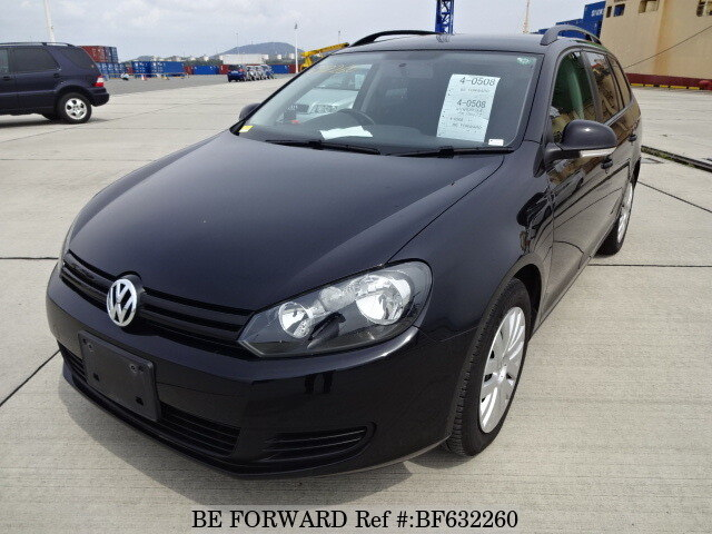 Used 2010 VOLKSWAGEN GOLF VARIANT BF632260 for Sale