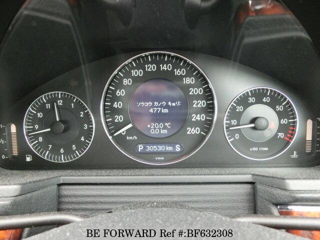 Used 2008 MERCEDES-BENZ E-CLASS E300/DBA-211054C for Sale BF632308