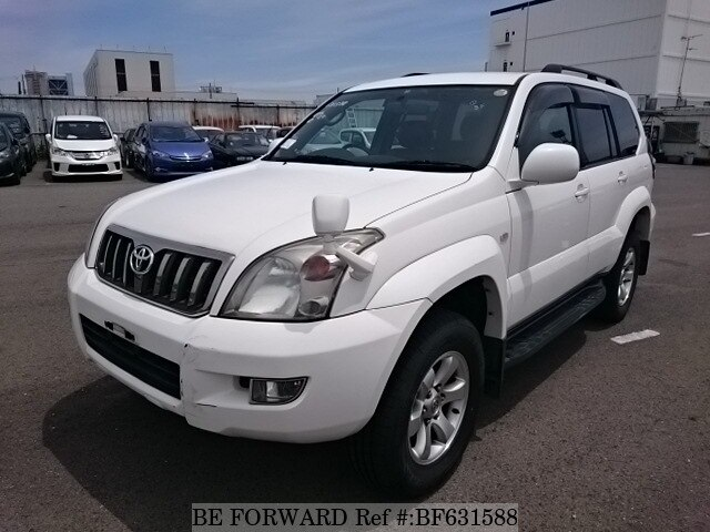 Used 2006 TOYOTA LAND CRUISER PRADO BF631588 for Sale