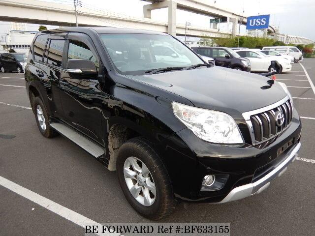 2010 toyota land cruiser prado tx cba trj150w d 39 occasion en promotion bf633155 be forward. Black Bedroom Furniture Sets. Home Design Ideas
