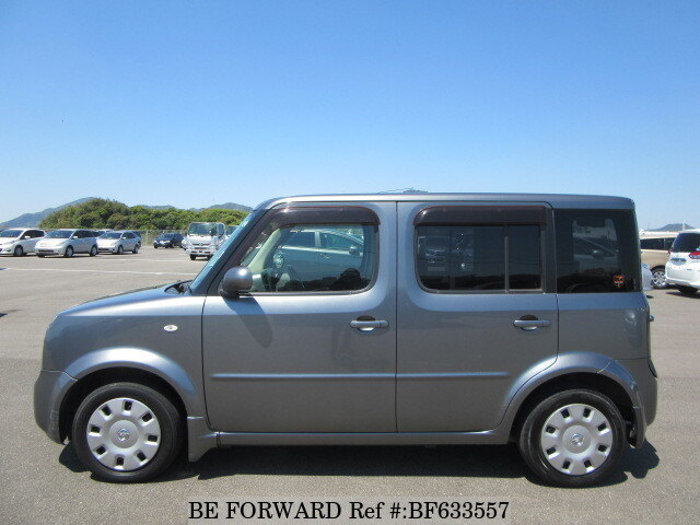 used 2007 nissan cube 15m plus navi next dba yz11 for sale bf633557 be forward. Black Bedroom Furniture Sets. Home Design Ideas