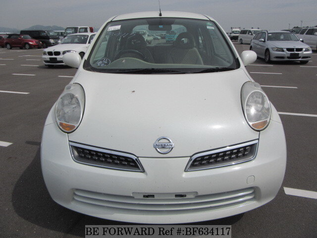 used 2009 nissan march 12s dba ak12 for sale bf634117 be forward