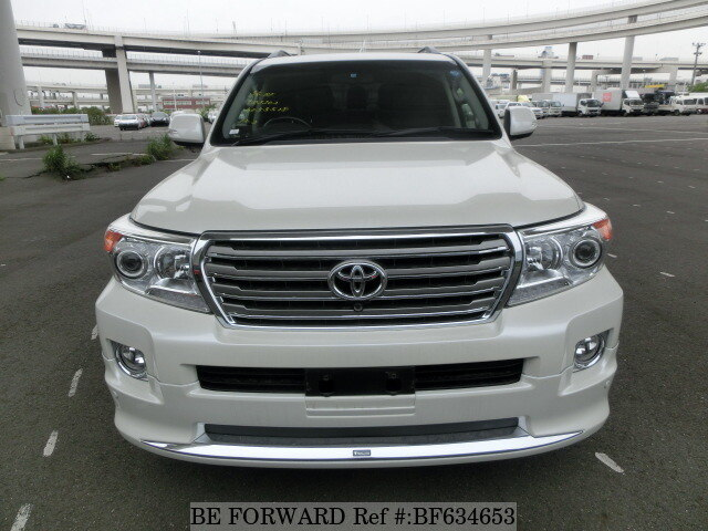 Used 2013 TOYOTA LAND CRUISER ZX/CBA-URJ202W for Sale
