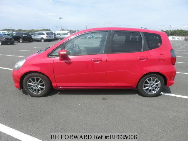used 2006 honda fit a dba gd3 for sale bf635006 be forward. Black Bedroom Furniture Sets. Home Design Ideas