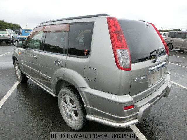 used 2000 nissan x trail x ta nt30 for sale bf635881 be forward. Black Bedroom Furniture Sets. Home Design Ideas