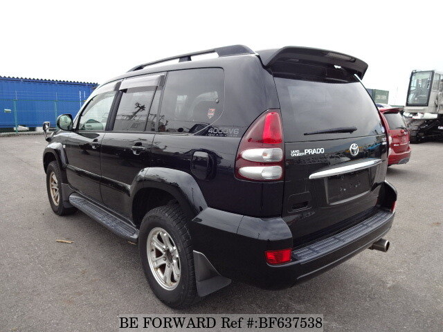 used 2005 toyota land cruiser prado tx limited cba grj120w for sale bf637538 be forward. Black Bedroom Furniture Sets. Home Design Ideas
