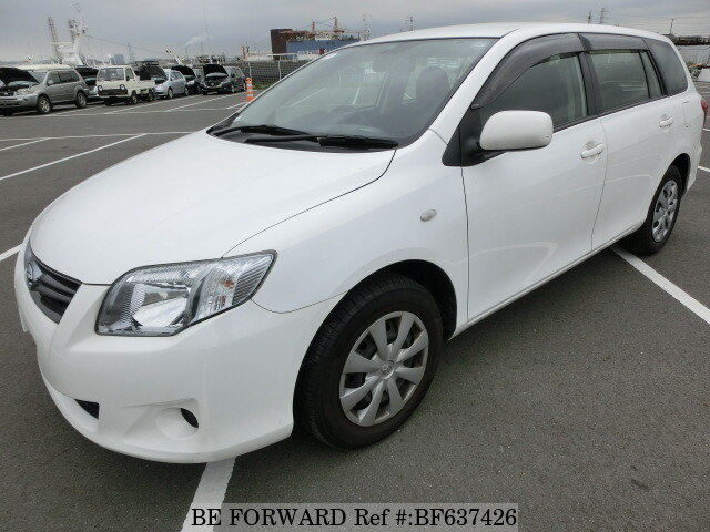 Used 2012 TOYOTA COROLLA FIELDER BF637426 for Sale
