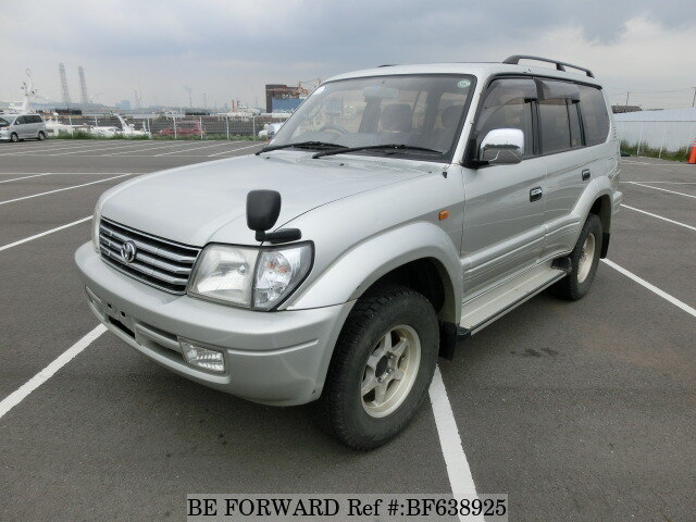 Used 2000 TOYOTA LAND CRUISER PRADO BF638925 For Sale