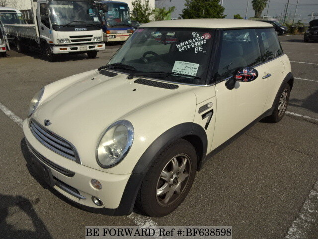 Used 2006 Bmw Mini One Sevengh Ra16 For Sale Bf638598 Be Forward