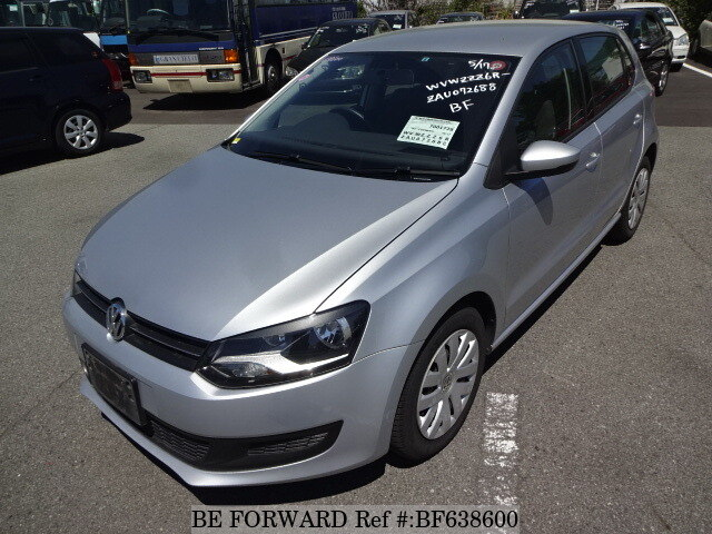 Used 2010 Volkswagen Polo Comfort Linedba 6rcbz For Sale Bf638600