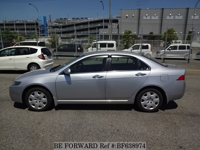 Used 2004 honda accord 24t la cl9 for sale bf638974 be for 2002 honda accord window off track