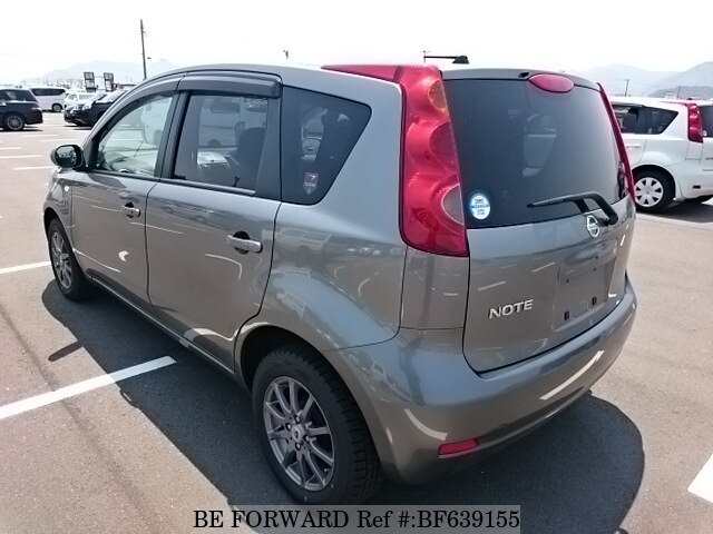used 2010 nissan note 15x dba e11 for sale bf639155 be forward. Black Bedroom Furniture Sets. Home Design Ideas