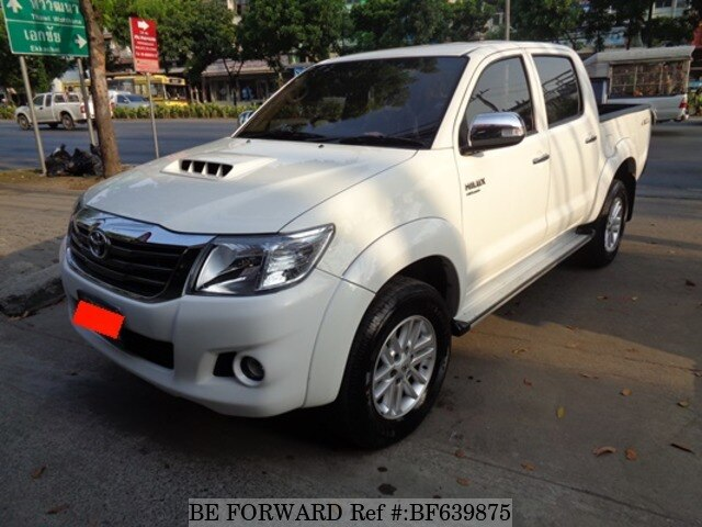 2014 toyota hilux 2 5e double cab kun35r prasht d 39 occasion bf639875 be forward. Black Bedroom Furniture Sets. Home Design Ideas