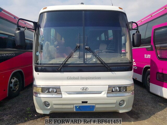 used 2002 hyundai aero bus express ldx for sale bf641451 be forward. Black Bedroom Furniture Sets. Home Design Ideas