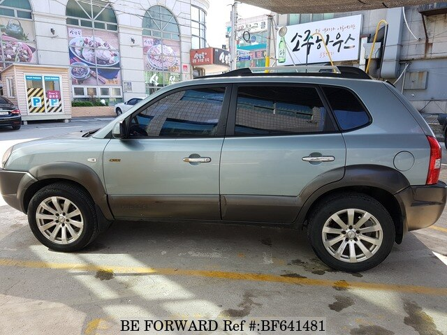 Used 2006 Hyundai Tucson Mxl For Sale Bf641481 Be Forward