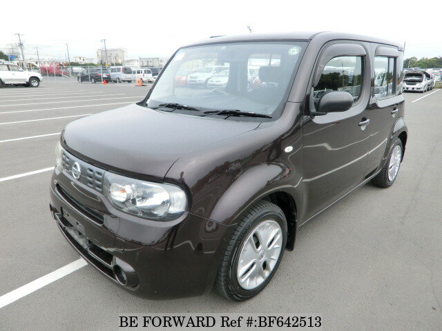 used 2009 nissan cube 15s dba z12 for sale bf642513 be forward. Black Bedroom Furniture Sets. Home Design Ideas