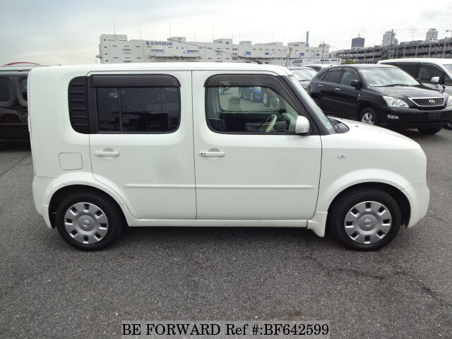 used 2008 nissan cube 15m dba yz11 for sale bf642599 be forward. Black Bedroom Furniture Sets. Home Design Ideas