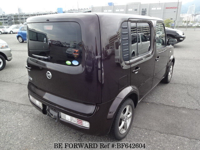 2008 nissan cube 14s plus navi hdd dba bz11 d 39 occasion en promotion bf642604 be forward. Black Bedroom Furniture Sets. Home Design Ideas