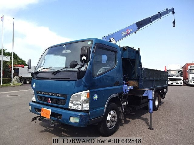Used 2003 MITSUBISHI CANTER CRANE POWER GATE/KK-FE83EEY for Sale